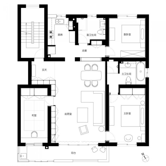Shanghai Apartment Modern Minimalist Flair on aquarium floor plan ideas