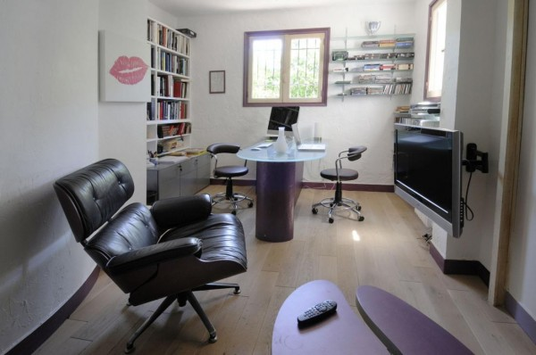 office modern french country interiors