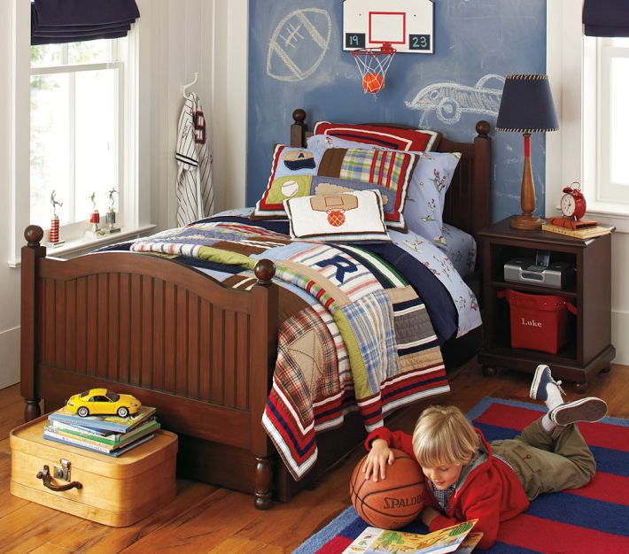 http://www.home-designing.com/wp-content/uploads/2013/03/red-white-and-blue-plaid-sports-themed-boys-room.jpeg