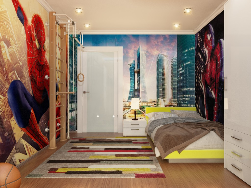 Boys 39 room designs - Cool and stylish room boys ...
