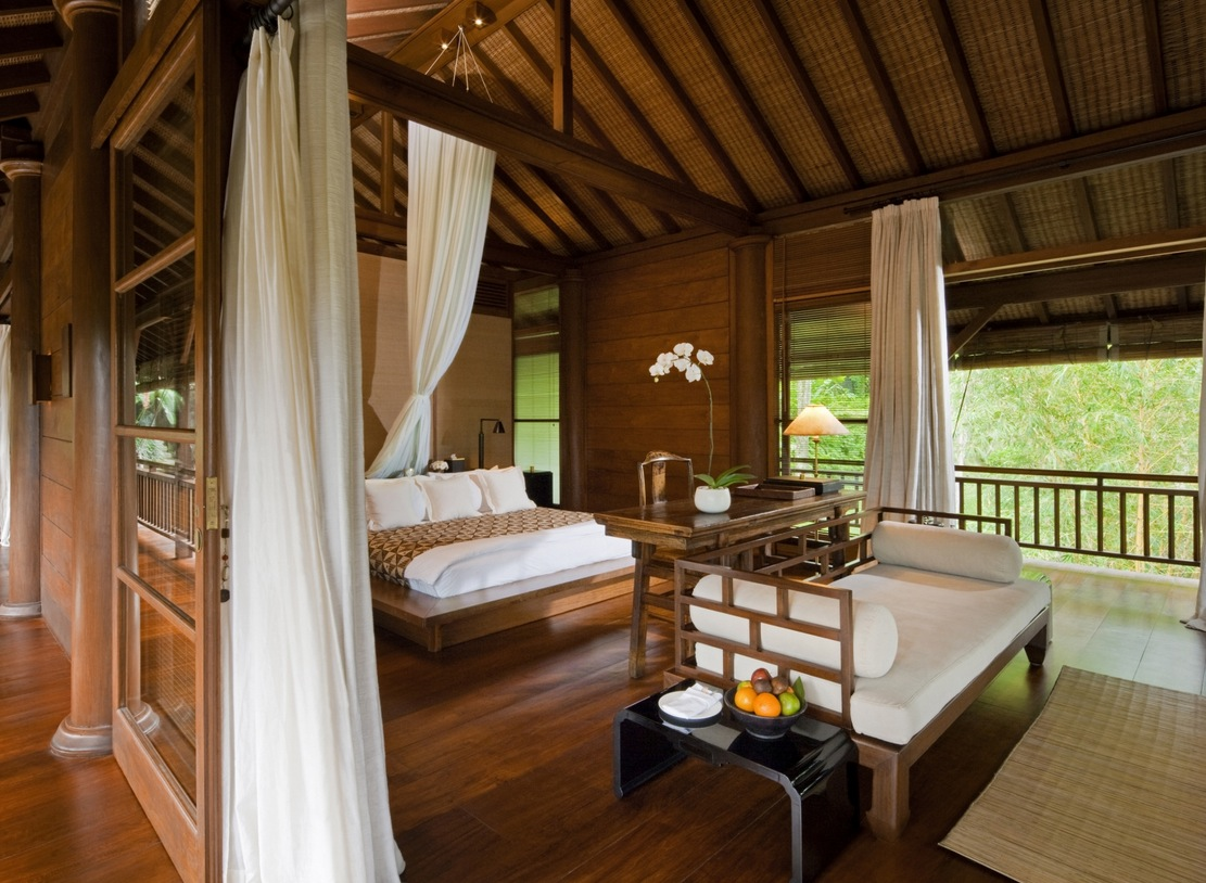 Fashion Inspired Guest Room: Como Shambhala Estate: Yet Another Stunning Bali Retreat