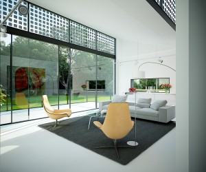 living room floor to ceiling glass wondows