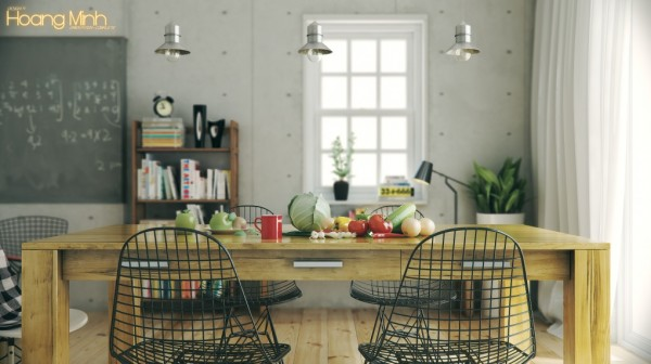 Hoang Minh- warmly styled nordic kitchen