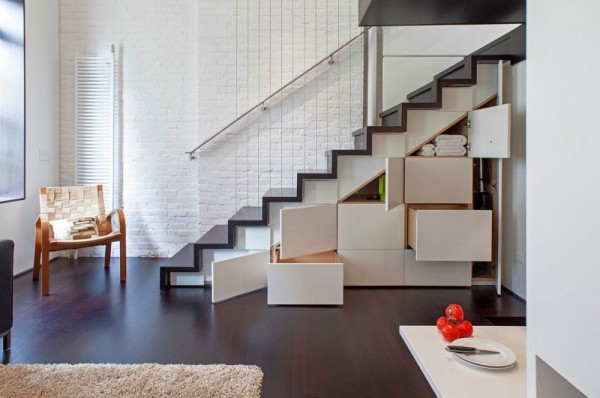 Manhattan-Micro-Loft- storage stairs open living