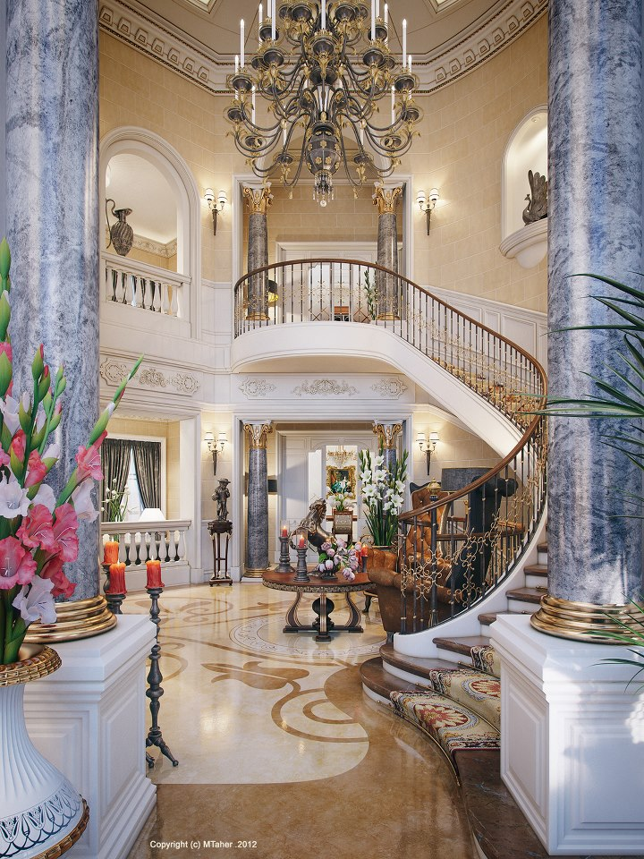 1000 Images About Grand Entrances Stunning Staircases On