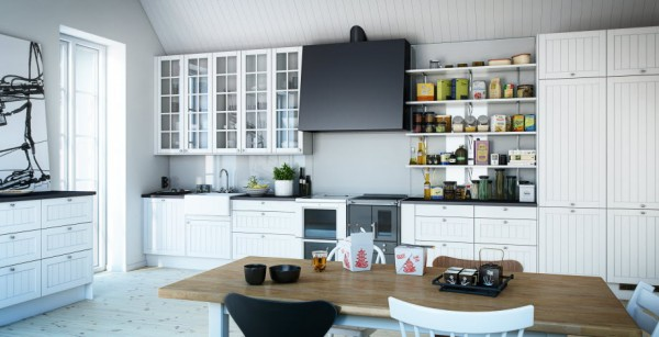 Marbodal kitchen Koster