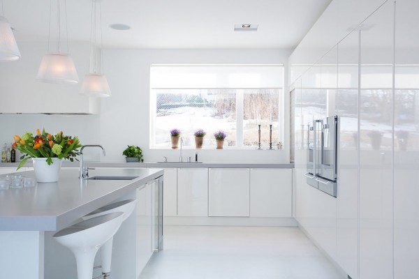 Modern Swedish Villa Kitchen 3