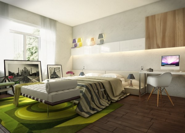 contemporary bedroom 18