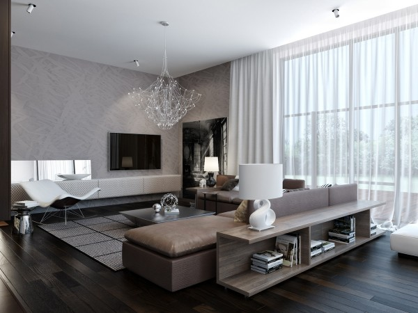 modern neutral living room 1