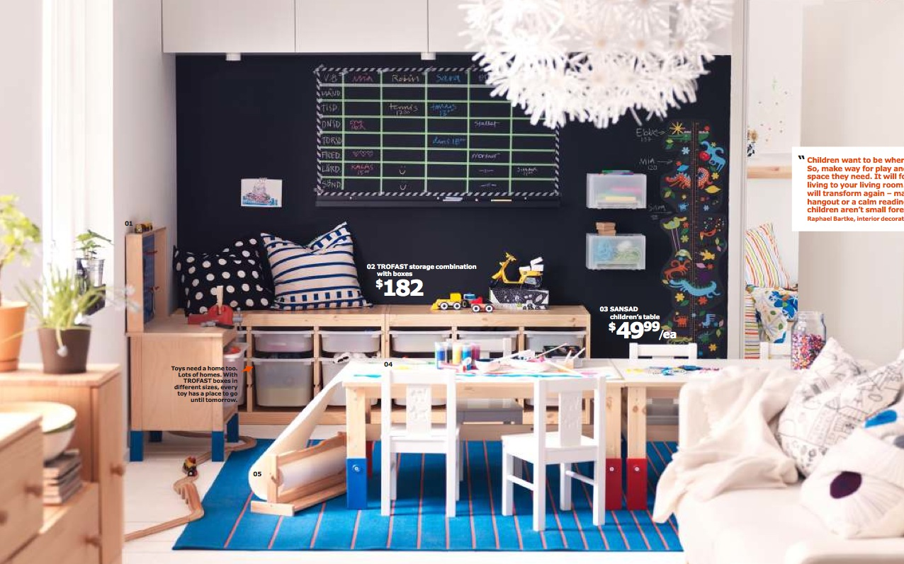 Ikea 2014 catalog full for Kids living room furniture