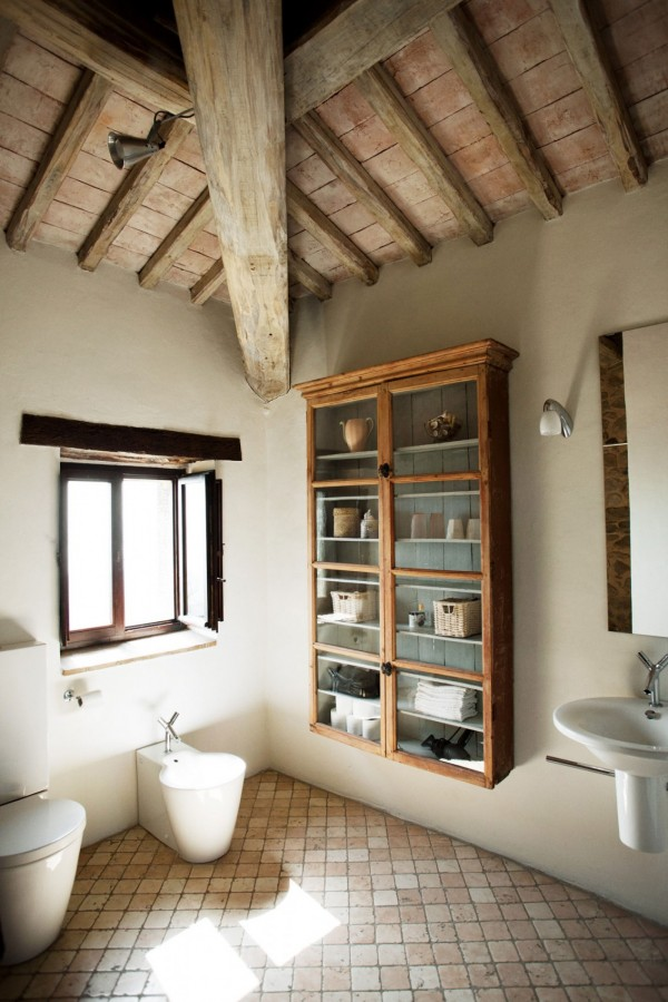 Casa Bramasole 2nd Bathroom