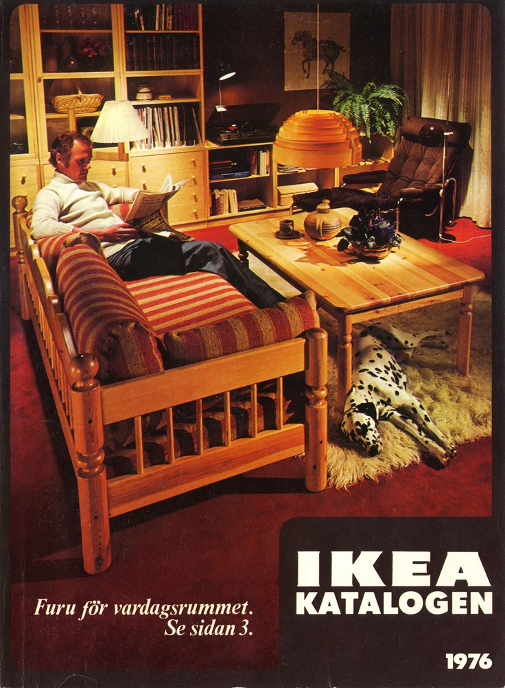 Ikea Catalog Covers From 1951 2014