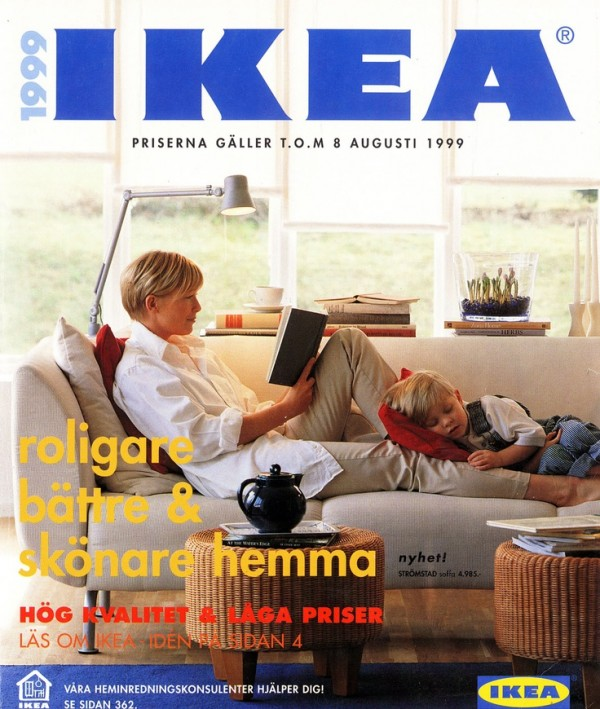 GLOBElife | DESIGN NEWS | IKEA Catalog Covers from 1951-2014