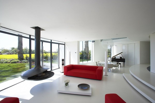Minimalist Tower Home Living Room 1