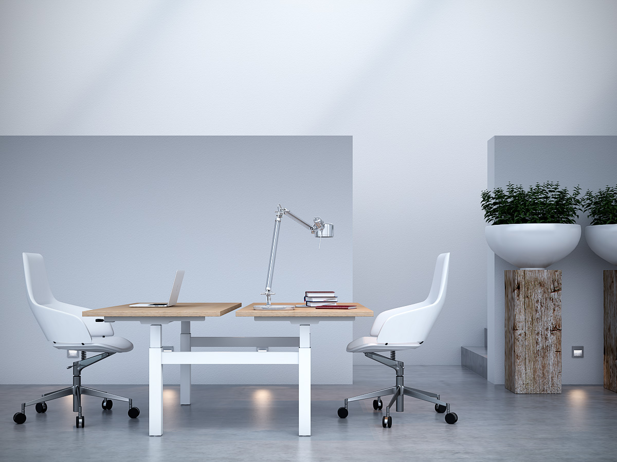 Modern office design concept featuring home office Office Desk The double Collection Is Aptly Named As Its Features Are Intended For Use By Smiuchin Wordpresscom Workspace Designs For Modern Offices Smiuchin