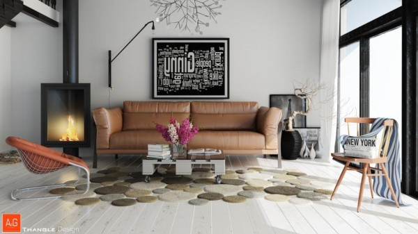 unique living room rug