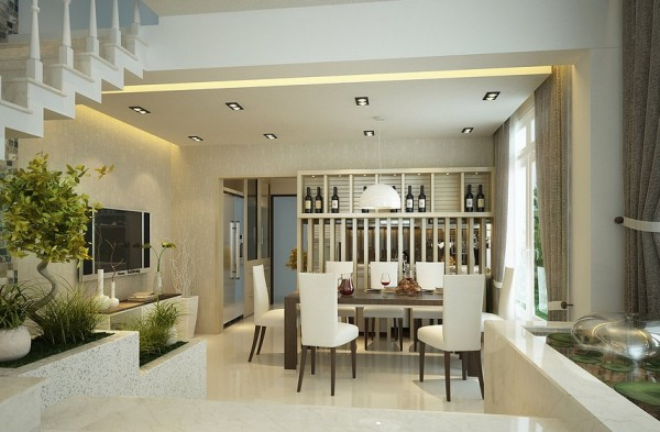 kitchen dining room space