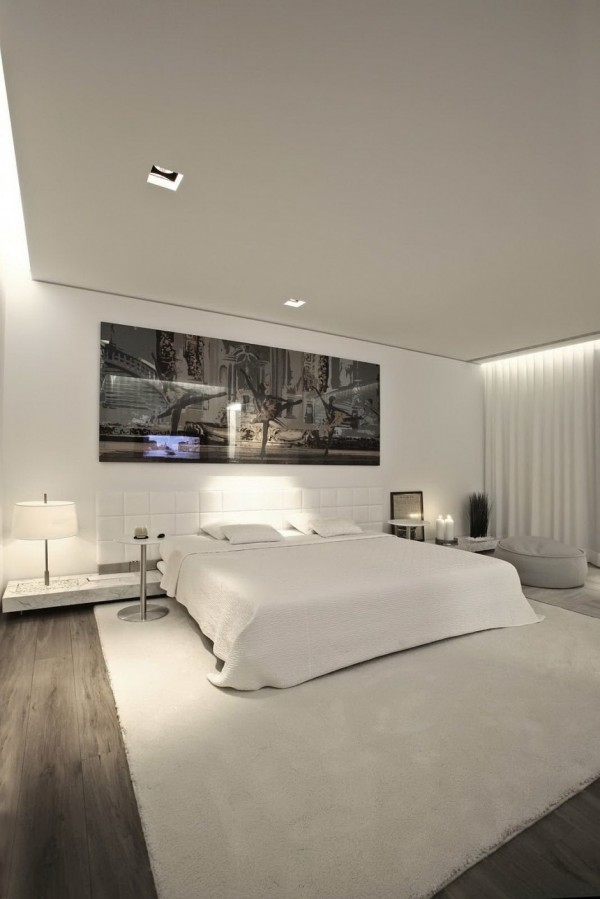large white bedroom
