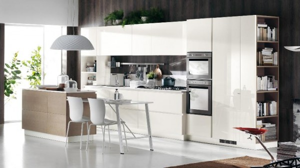 linear kitchen cabinetry