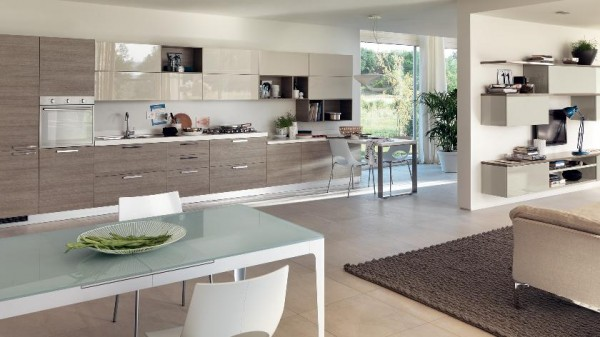 one wall kitchen cabinetry