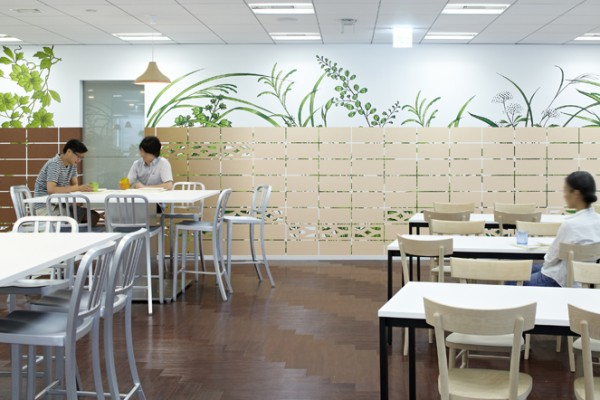 12 japanese dining area cafeteria