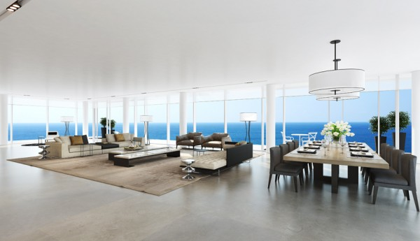 12.open dining room area
