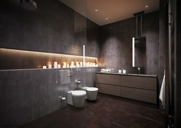 15 modern grey bathroom