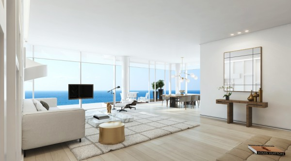 17.white modern apartment