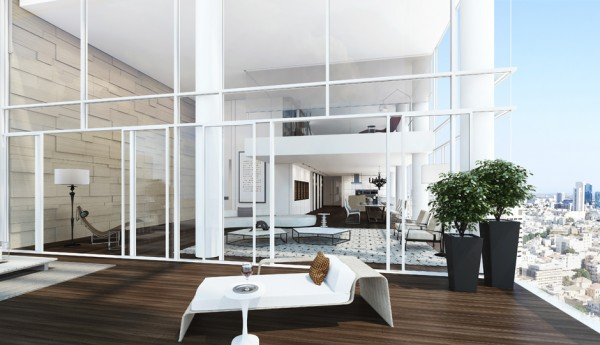 Many of the apartments also offer decks, the hardwood floors simply extending beyond the window, which residents to enjoy the sea air without leaving home and comfortably entertain envious friends. Recessed lighting gives rooms an inviting glow without detracting from the carefully sharp edges of the other architectural elements.
