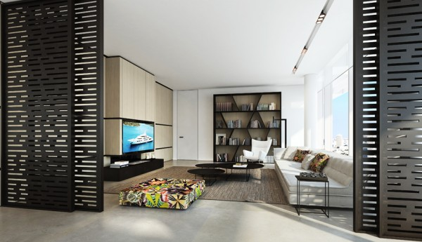 2.spacious living area