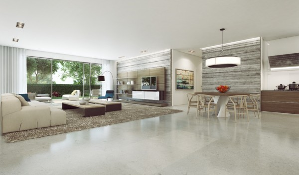 28 60s style living room