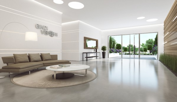 29 modern reception area