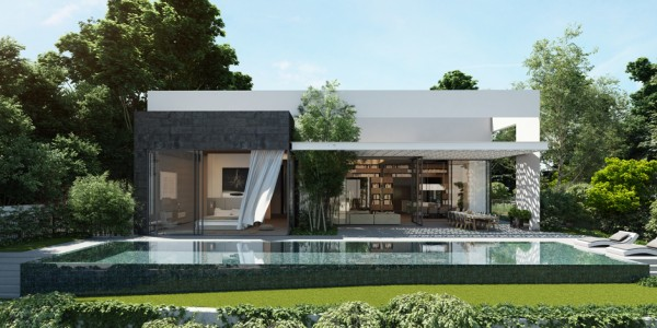 Moderne architektenhäuser mit pool  Ando Studio: Modern Home and Luxury Apartment Renderings