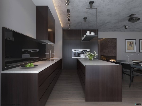 5 clean modern kitchen