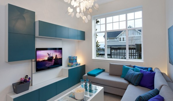 cozy living room 600x350 - Colorful Interiors