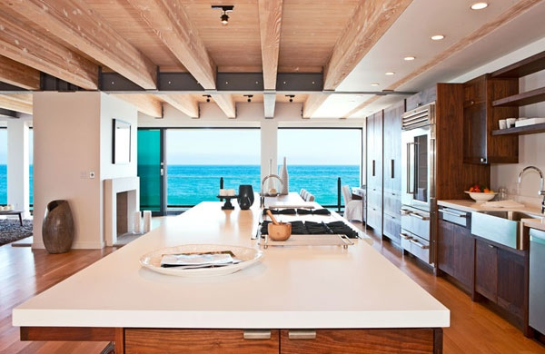huge kitchen island