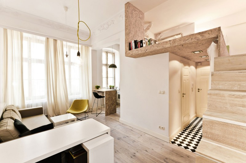 Stunning 312 square feet (29 sq meter) Micro Apartment | Free home ...