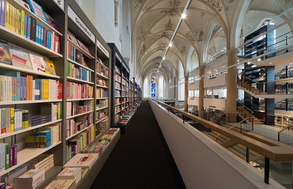 Bookshop Church Conversion