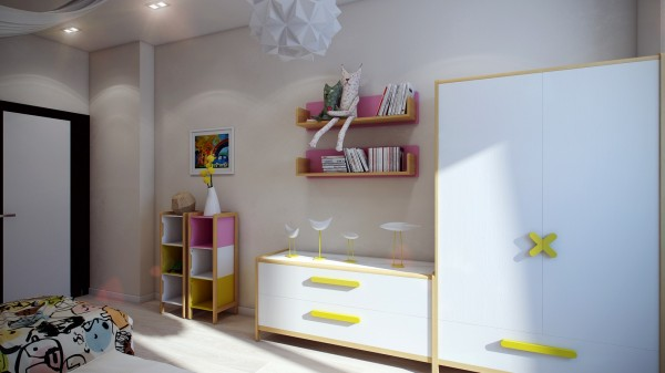 12 Modern kids furniture 600x337 - cute & stylish Kids Rooms