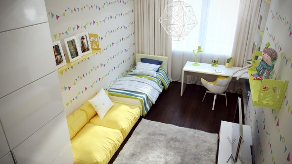 5 Fresh girls bedroom decor 600x337 - cute & stylish Kids Rooms