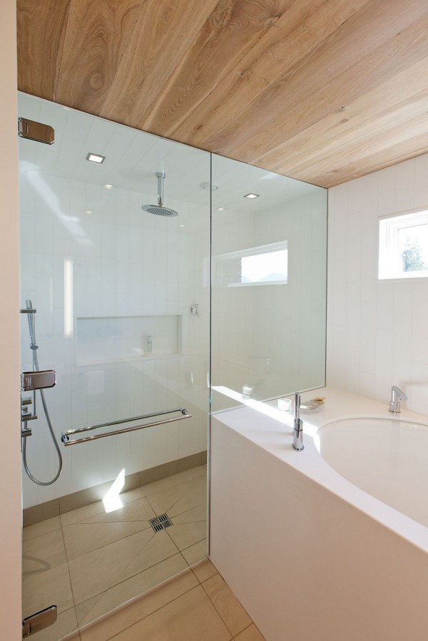 Bespoke shower enclosure