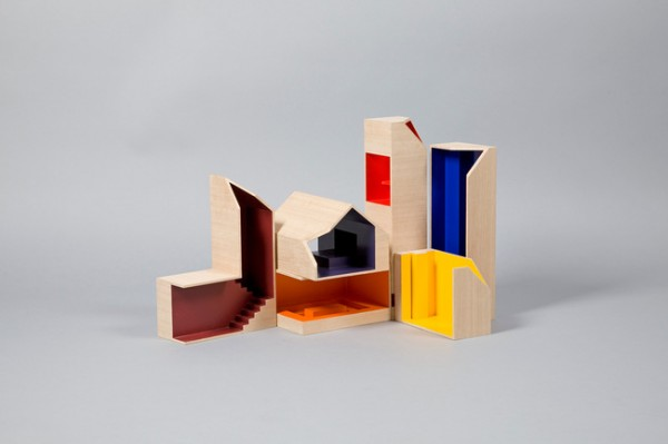primary color dollhouse