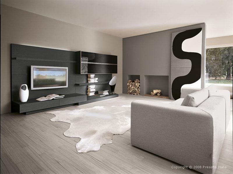 ماذا الرمادي الديكور modern-living-room13