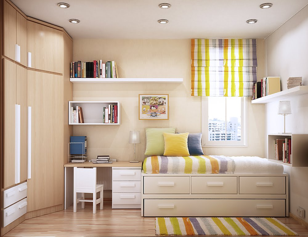 space saving ideas for small kids rooms 17137 | bright and cheerful room