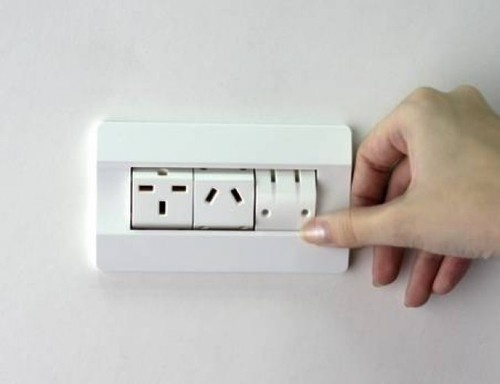 rotating outlet