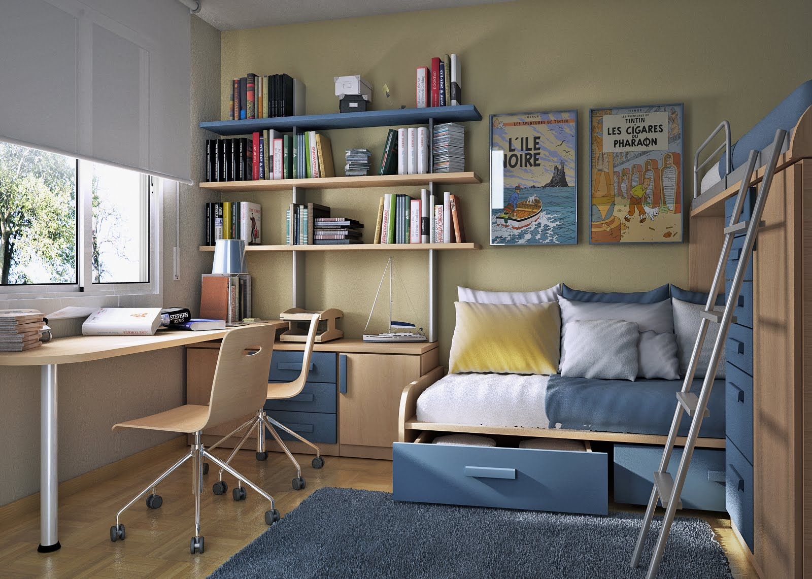 Small Floorspace Kids Rooms on Small Rooms  id=69602