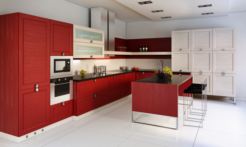 kitchen design red white kitchen inspiration 927
