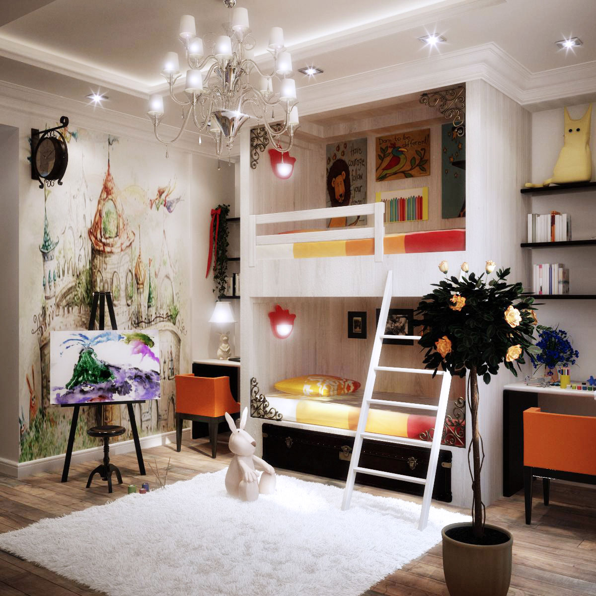 Colorful Kids Rooms on Rooms For Teenagers  id=44003