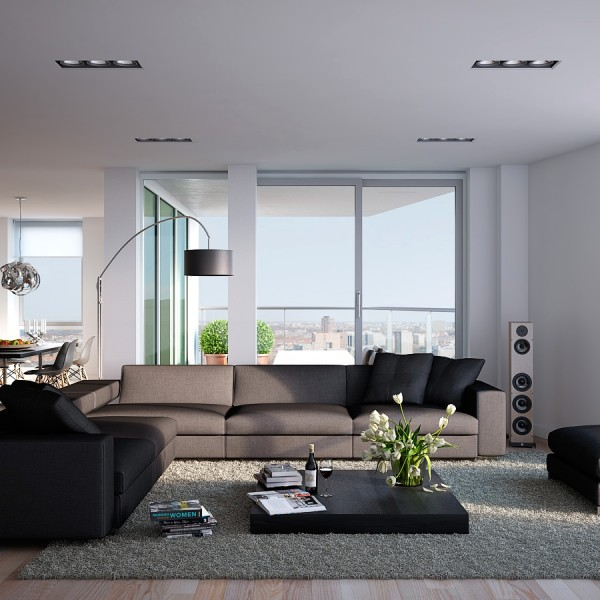 Visualizations Of Modern Apartments That Inspire Gawe