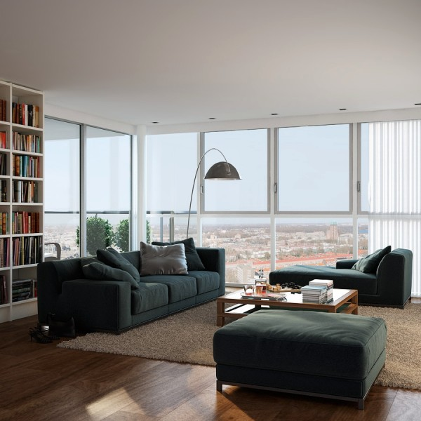 Visualizations Of Modern Apartments That Inspire Gawe Omah Design
